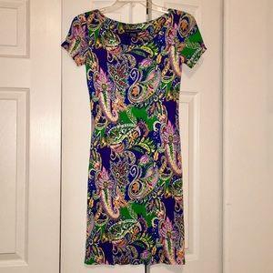 Ralph Lauren Paisley Dress